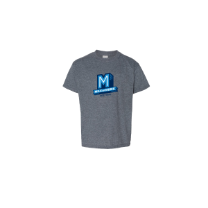 "Youth Gray Flying ""M"" T-Shirt"